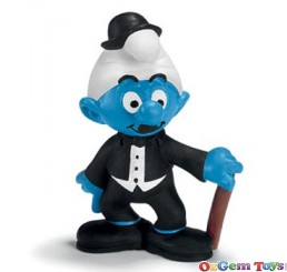 Schleich Actor Smurf Toy Figure