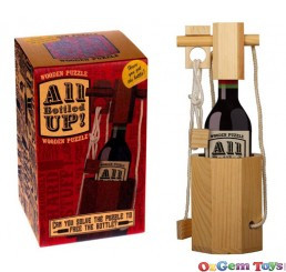 Professor Puzzle All Bottled Up Wooden Puzzle