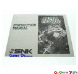 Alpha Mission Nes Instruction Manual