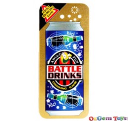 Battle Drinks Adult Drinking Game in Tin