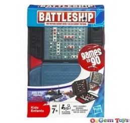 Battleship Travel Edition Tactical Combat Game