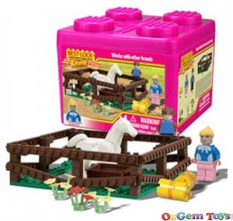 Best Lock Kimmy Horse 105 Piece