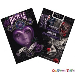 Bicycle Anne Stokes Dark Hearts Poker Cards