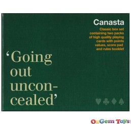 Canasta Going Out Unconcealed Classic Box Piatnik