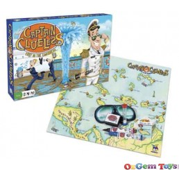 Captain Clueless Lost in The Caribbean Board Game