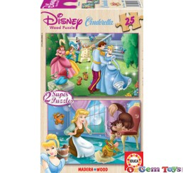 Cinderella Educa Jigsaw Puzzle 2 x 25 Pieces