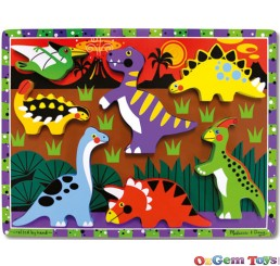 Dinosaurs Chunky Wooden Jigsaw Puzzle
