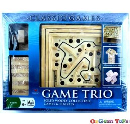 Game Trio 3 games in 1 Package