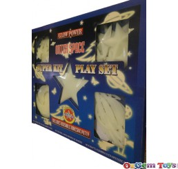 Glow Power Outer Space Super Kit Play Set