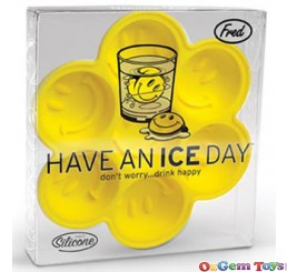 Have An Ice Day Happy Face Ice Tray Fred Brand