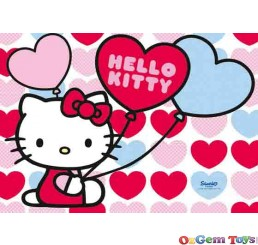 Hello Kittys World Ravensburger Childrens Jigsaw Puzzle 2 x 20 Pieces
