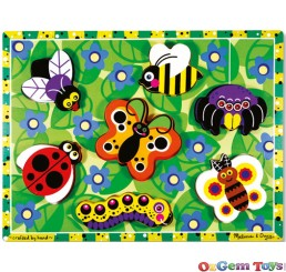 Insects Chunky Wooden Jigsaw Puzzle