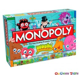 Hasbro Moshi Monsters Monopoly Board Game