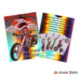 County Choppers Playing Cards