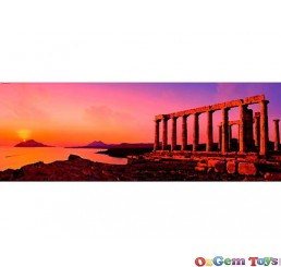 Poseidon Temple Heye Mini Panorama Jigsaw Puzzle 75 Piece