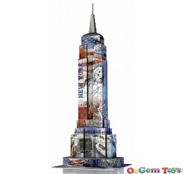 Ravensburger Empire State Flag Edition 3D Puzzle Building 216 Piece