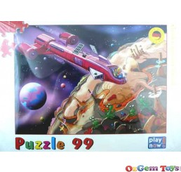 Space Cartoon Jigsaw Puzzle 99 Pieces