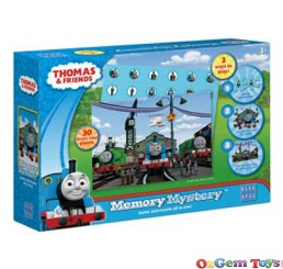 Thomas Memory Mystery Blue Opal Puzzle Game