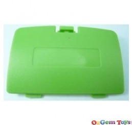 Gameboy Color Battery Cover Green New