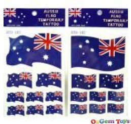 Australian Flag Temporary Tattoos,Body Art
