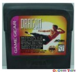 Dragon The Bruce Lee Story Sega Game Gear Game