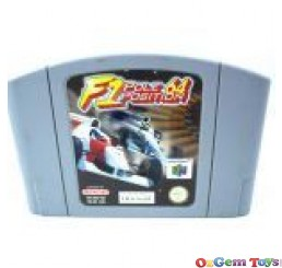 F1 Pole Position Nintendo 64 Game