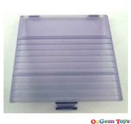 Game boy Original Battery Cover Transparent Purple
