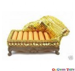 Gold Tone Couch Ring Jewellery Holder Display Stand