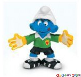 Schleich Goalkeeper Smurf PVC Toy Figure