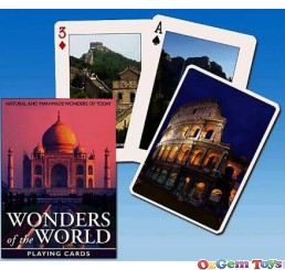 Wonders Of The World Playing Cards Piatnik 1517