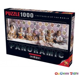 All In A Row Panoramic Anatolian Jigsaw Puzzle 1000 Piece