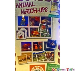 Animal Match Ups Fun and learn Puzzle Educa