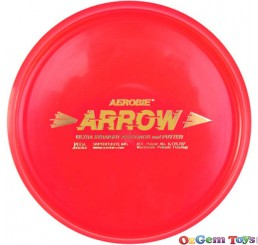 Aerobie Arrow Golf Disc Putter Red