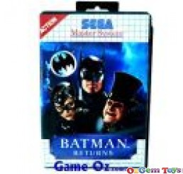 Batman Returns Sega Master System Game