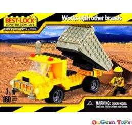 Best Lock Dump Truck 160 Piece
