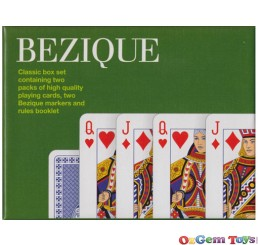 Bezique Playing Cards Box Set