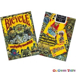 Bicycle Poker Cards Everyday Zombies