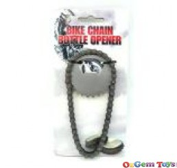 Bike Chain Beer Bottle Opener