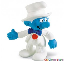 Bridegroom Smurf Toy Figure Schleich  SC20413