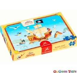 Captain Sharky Ship Ahoy Spiegelburg Jigsaw Puzzle 100 Pieces