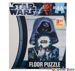 Cardinal Star Wars 3ft Floor Jigsaw Puzzle 46 pc