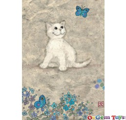 Heye Cats White Kitty Jigsaw Puzzle 500pc