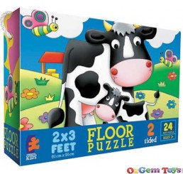 Ceaco Life on the Farm 24 Pieces Floor Puzzle