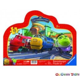 Chuggington Frame Ravensburger Jigsaw Puzzle 25 Pieces