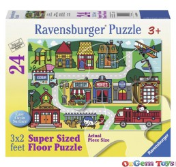 Super Size Floor Puzzle 24 Piece City Streets Ravensburger