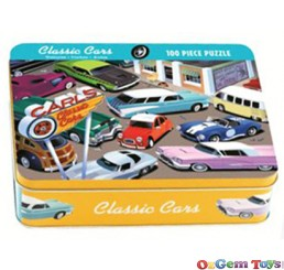 Classic Car Jigsaw Puzzle 100 Pieces Mudpuppy