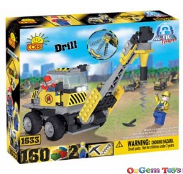 Cobi Drill Block Brick set