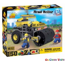 Cobi Road Roller Building Block Brick set