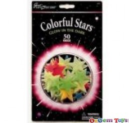 Colourful Stars Glow In The Dark