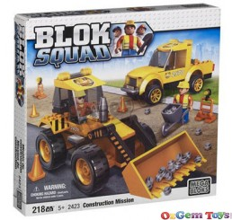 Construction Mission Mega Bloks Childrens Building set Play Set